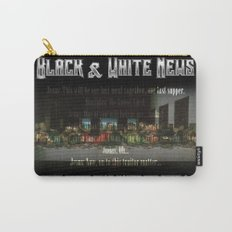 The Black & White Last Supper Carry-All Pouch