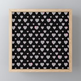 Made for you my heart 33 Framed Mini Art Print