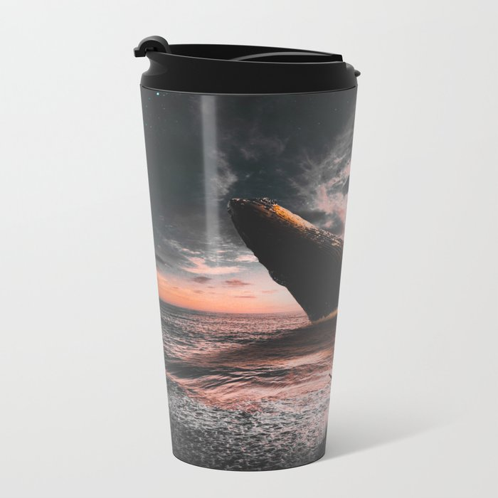 HELLO Metal Travel Mug