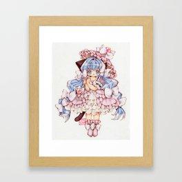 Kitty Princess Framed Art Print