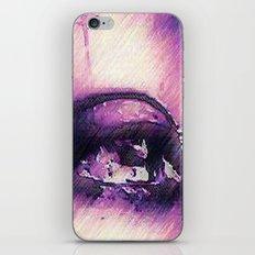 Tears - Pencil Drawing iPhone & iPod Skin