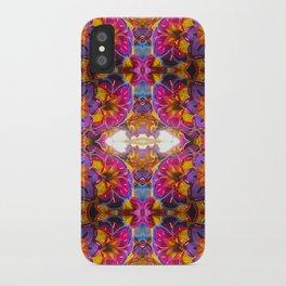 paper mache floral iPhone Case