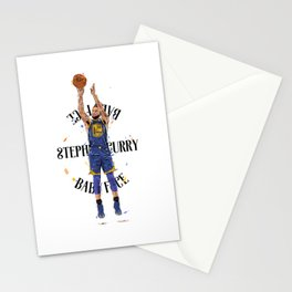 Stephen «Babyface» Curry Stationery Cards
