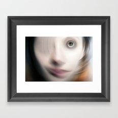 Swirling Mind Framed Art Print
