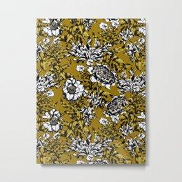 Khaki Garden Metal Print