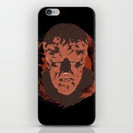Horror Monster | Wolfman iPhone Skin