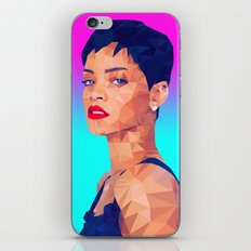 Rihanna LowPoly/ High Poly: Artists Collection iPhone & iPod Skin
