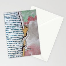 demons detail Stationery Cards