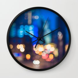 Urban Confetti Wall Clock