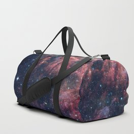Nebula and Stars Duffle Bag