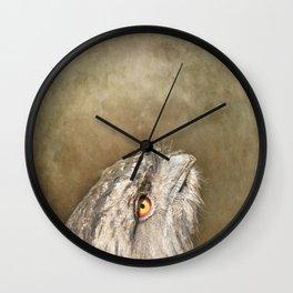 The Nightjar Wall Clock