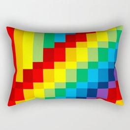 Fuzz Line #3 Rectangular Pillow