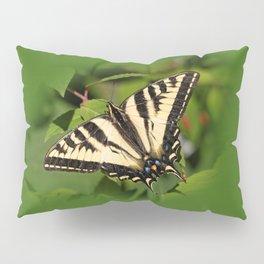 Western Tiger Swallowtail in the Garden Pillow Sham