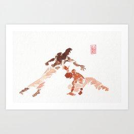 Capoeira 287 Art Print