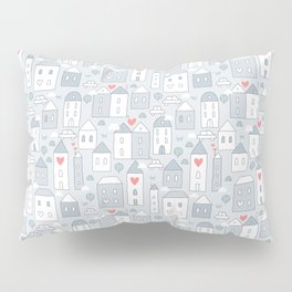 Love city Pillow Sham