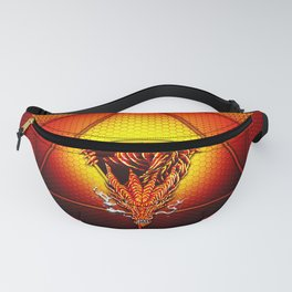 d20 Lucky Dragon Fanny Pack