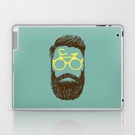 Hipster Biker Laptop & iPad Skin