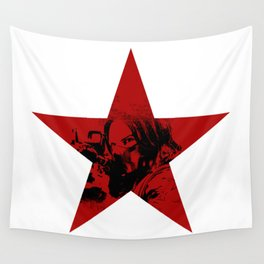 Winter Soldier Star Wall Tapestry