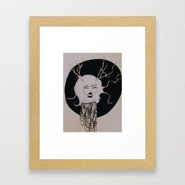terrible angel Framed Art Print