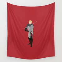 merlin Wall Tapestries featuring Arthur Pendragon, Merlin by carolam