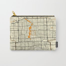 Beijing Map Moon Carry-All Pouch