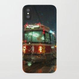 Streetcar Interruptus iPhone Case