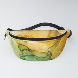 Turning Fall  - Abstract Ink Painting Fanny Pack