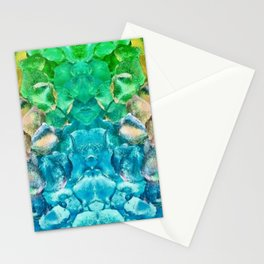 Awesome Lava Rock Explosion Stationery Cards