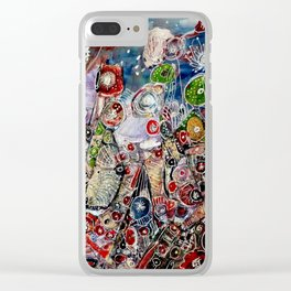 The rise of the continents Clear iPhone Case