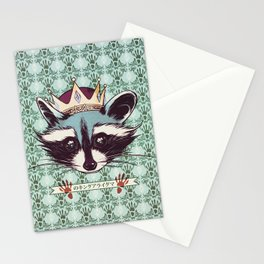 King Racoon · Ver.2 Stationery Cards
