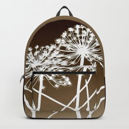Cow parsnip - Tromso palm Backpack