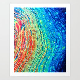 Radar Art Print