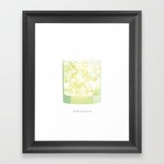 Cocktail Hour: Margarita Framed Art Print
