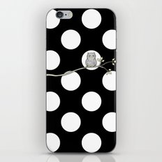 Out on a Limb - Polka Dot Owl Moon iPhone & iPod Skin