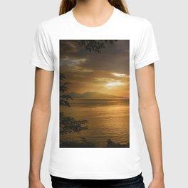 Sunset at Lismore Island T-shirt