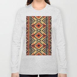 American Native Pattern No. 159 Long Sleeve T-shirt