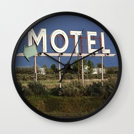 Vacancy Wall Clock