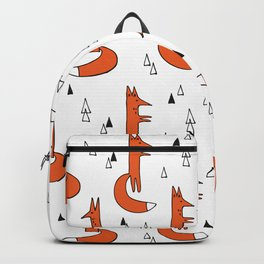 Cute Graphic Ginger Foxes Backpack