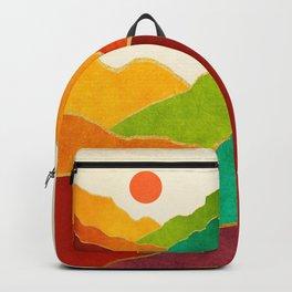Minimal Landscape 11 Backpack