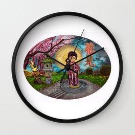 Edo Kawaai #1: Hanami Wall Clock