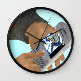Fly: Let's Play Wall Clock