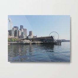 Seattle Waterfront 2 Metal Print