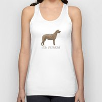 irish Tank Tops featuring Irish Wolfhound by 52 Dogs