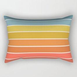 Gradient Arch - Rainbow II Rectangular Pillow