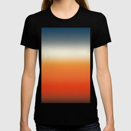 sunset sky color gradient - colorful abstract background T-shirt