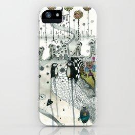 """Penguins"" iPhone Case"