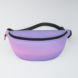 Purple Sunset Fanny Pack