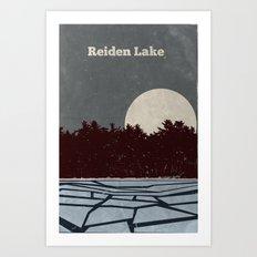 Reiden Lake (Fringe) Art Print