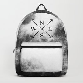 Foggy Forest Compass Backpack
