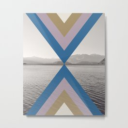 Boho Arrows of Lake Wanaka Metal Print